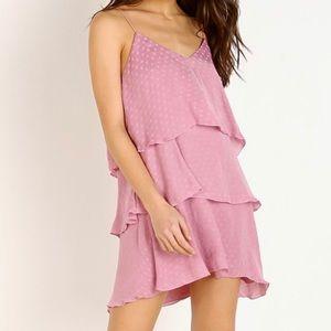 Show Me Your Mumu Pink Suarez Ruffle Dress